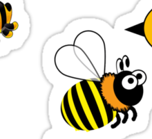 Bumblebees Sticker