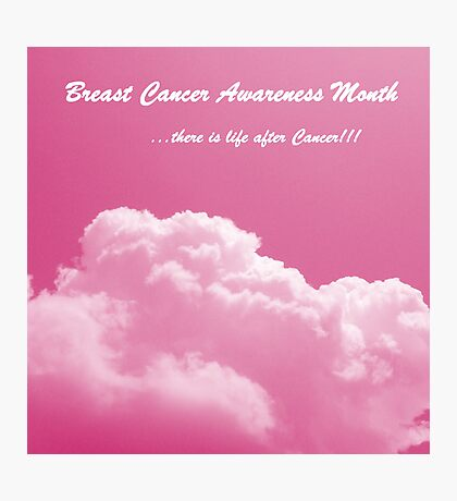 Breast Cancer Awareness!! Photographic Print