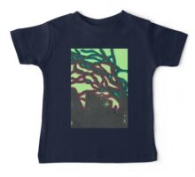 tree silhouettes (red and green glaze) Baby Tee