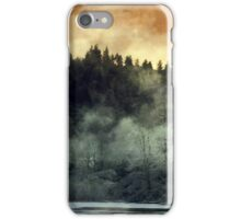 The Trees on Fire. iPhone Case/Skin