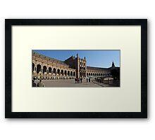 Plaza de Espania Framed Print