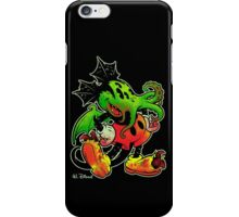 MICKHULHU MOUSE (color) iPhone Case/Skin