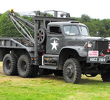 WW11 Recovery Truck by Andy Jordan