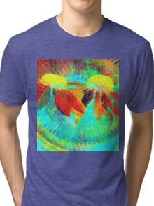 Tropical Delight-Available As Art Prints-Mugs,Cases,Duvets,T Shirts,Stickers,etc Tri-blend T-Shirt