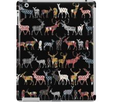 charcoal spice deer iPad Case/Skin