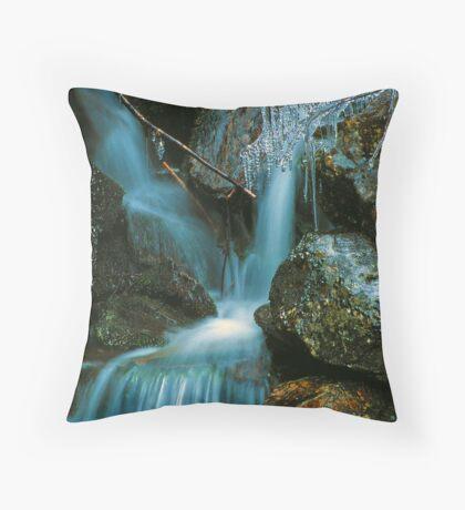 ICEY STREAM Throw Pillow