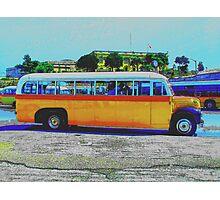 Maltese Bus  Photographic Print