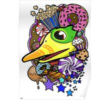 Viva Pinata - Quackberry Collage! Poster