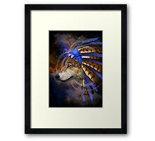Fight For What You Love (Chief of Dreams: Wolf)  Framed Print