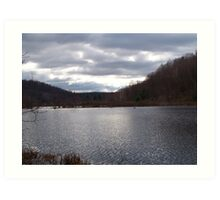 Easton Pond  Art Print