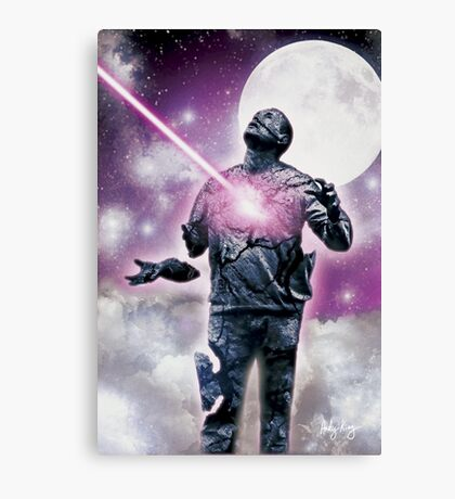 I will be judged by Him......... Canvas Print