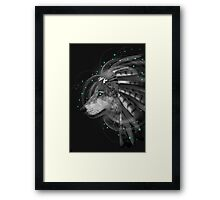 Don't Define Your World (Chief of Dreams: Wolf) Framed Print