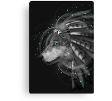 Don't Define Your World (Chief of Dreams: Wolf) Canvas Print