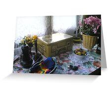 A cosy corner Greeting Card