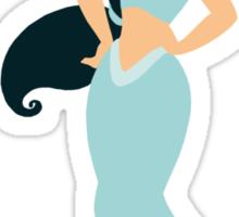 Jasmine - Aladdin Minimalist Sticker