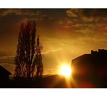 Our Sunset  Photographic Print