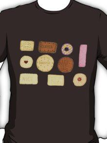 Best of British Biscuits. T-Shirt