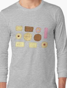 Best of British Biscuits. Long Sleeve T-Shirt