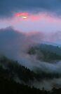 STORMY SUNSET by Chuck Wickham