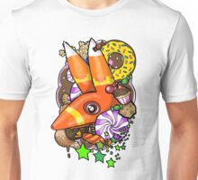 Viva Pinata - Pretztail Collage! Unisex T-Shirt