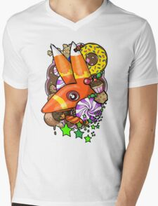 Viva Pinata - Pretztail Collage! Mens V-Neck T-Shirt