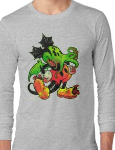 MICKHULHU MOUSE (color) Long Sleeve T-Shirt