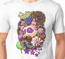 Viva Pinata - Macaraccoon Collage! Unisex T-Shirt