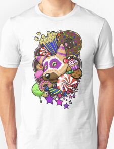 Viva Pinata - Macaraccoon Collage! T-Shirt