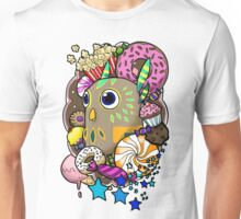 Viva Pinata - Hootyfruity Collage! Unisex T-Shirt