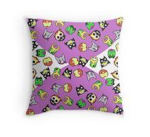 Chibimals - Marvel/DC Owls (Phase One)  Throw Pillow