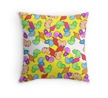 Chibimals - Chameleon Throw Pillow