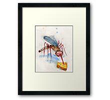 Skeeter Cheese Eater.  Framed Print