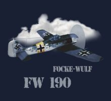 focke-wulf fw 190 by hottehue
