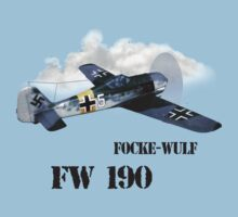 focke-wulf fw 190 by hottehue