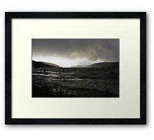 Dark Loch Ness Framed Print