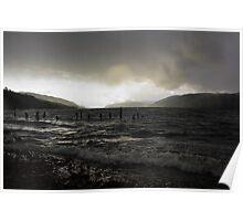 Dark Loch Ness Poster