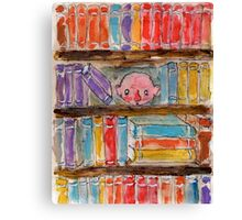 Shelfie. Canvas Print