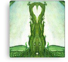 Symmetrical and creepy Canvas Print