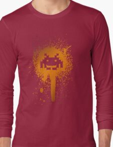 Space Blotch (Orange ver.) Long Sleeve T-Shirt