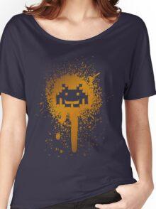 Space Blotch (Orange ver.) Women's Relaxed Fit T-Shirt