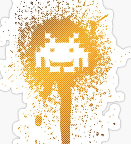 Space Blotch (Orange ver.) Sticker