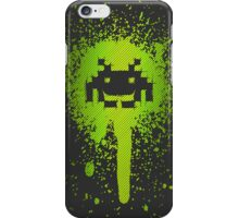 Space Blotch (Green ver.) iPhone Case/Skin