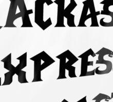"Jackass Express Podcast ""Messy T"" Sticker"
