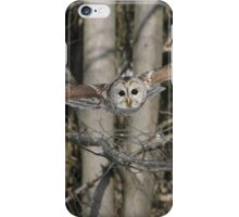 Fearless angel from above iPhone Case/Skin