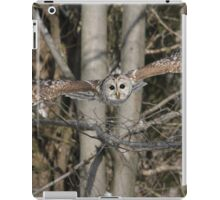 Fearless angel from above iPad Case/Skin