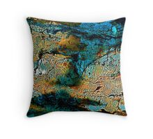 Rock Landscape Throw Pillow