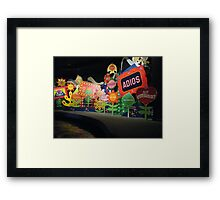 It's A Small World Disney World Framed Print