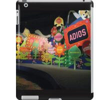 It's A Small World Disney World iPad Case/Skin