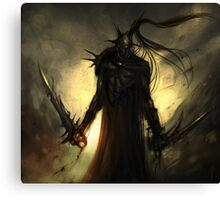 black orc Canvas Print