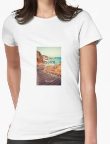 Summer - Abuse Womens Fitted T-Shirt